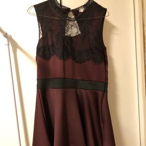 Semi Formal Lace Dress